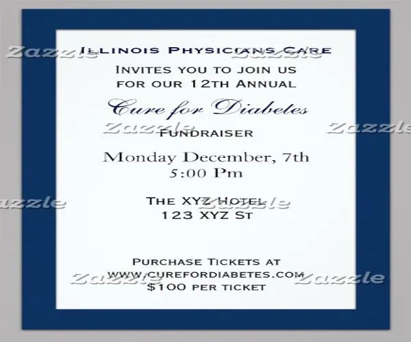 invitation samples for event