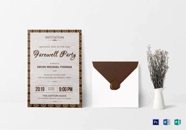 14 Farewell Potluck Invitations JPG Vector EPS Ai Illustrator Download Free Amp Premium