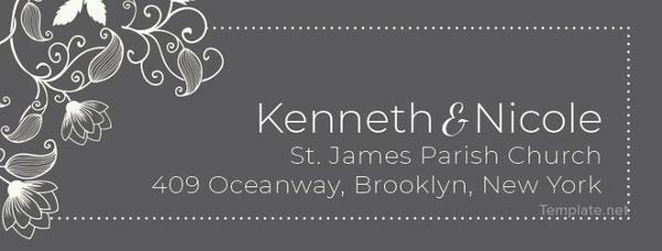 13+ Wedding Address Labels - JPG, PSD Download   Free & Premium ...