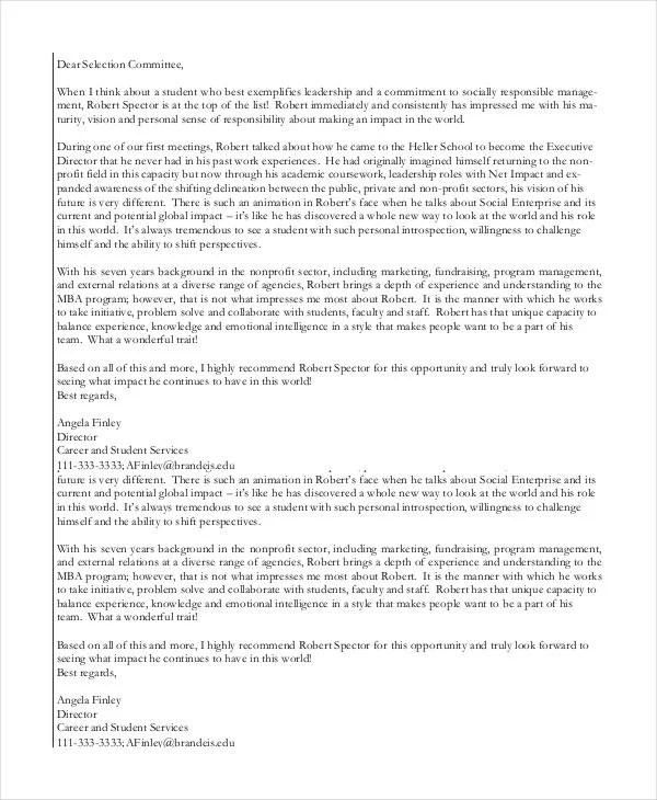 40+ Recommendation Letter Templates in PDF | Free & Premium Templates