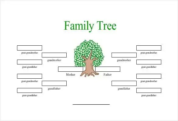 draw a family tree in word
