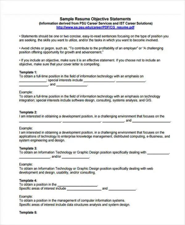 consulting resume example pdf