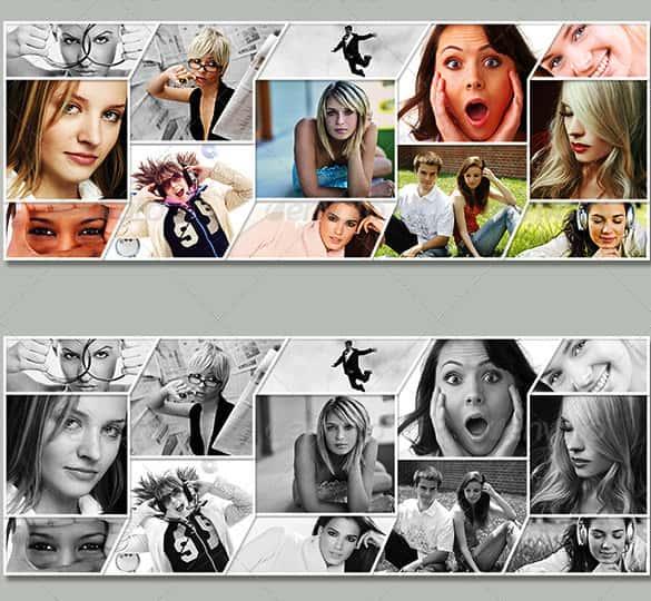 25 photo collage templates