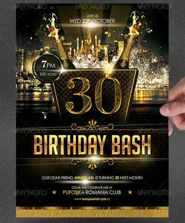 25 birthday poster templates