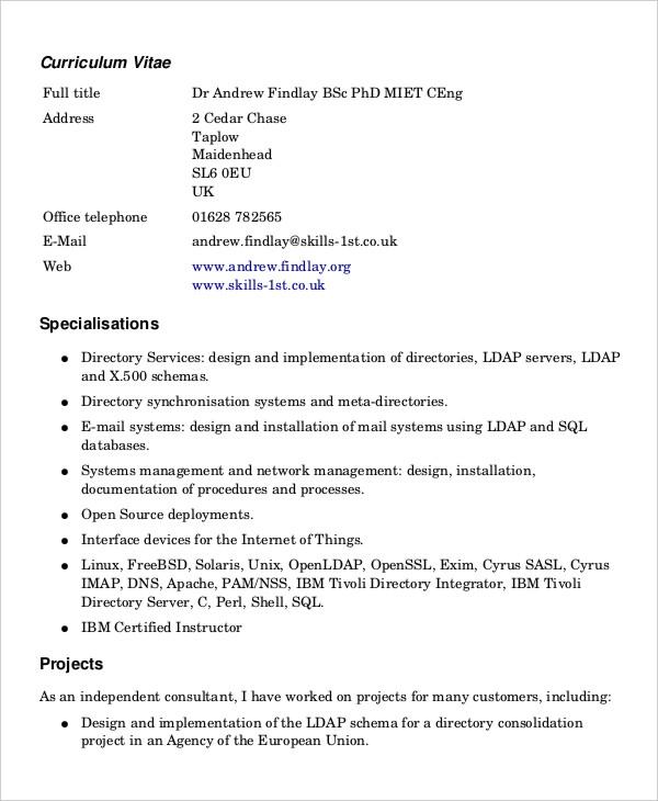 Free Printable Resume Form Resume Sample