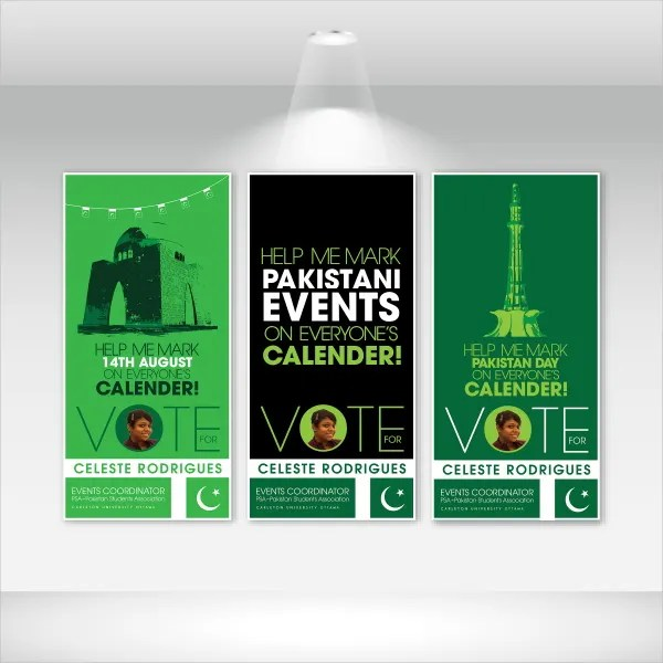 12 campaign poster templates