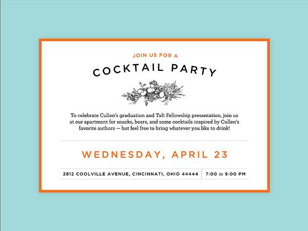 Unique Graduation Party Invitations