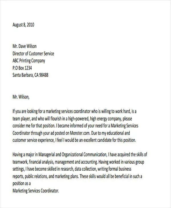 44 Business Letter Format Free & Premium Templates
