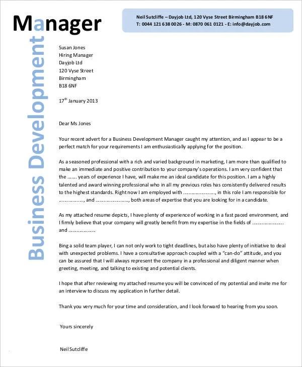 Development Cover Letter - Cover Letter Resume Ideas - tedata.us