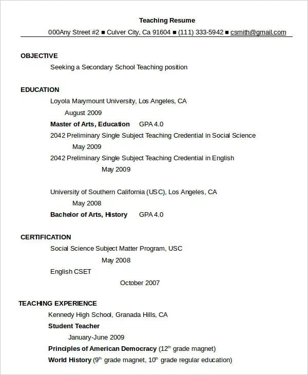 Resume in word Template  24 Free Word PDF Documents Download  Free  Premium Templates