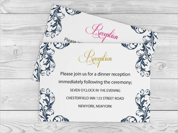 63 Wedding Card Templates Free Premium