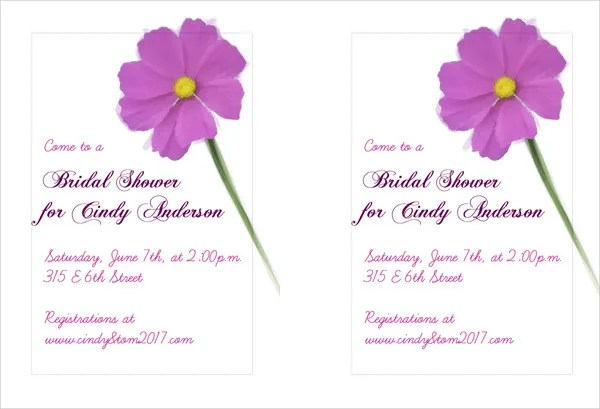 Bridal Shower Brunch Invitation Wording