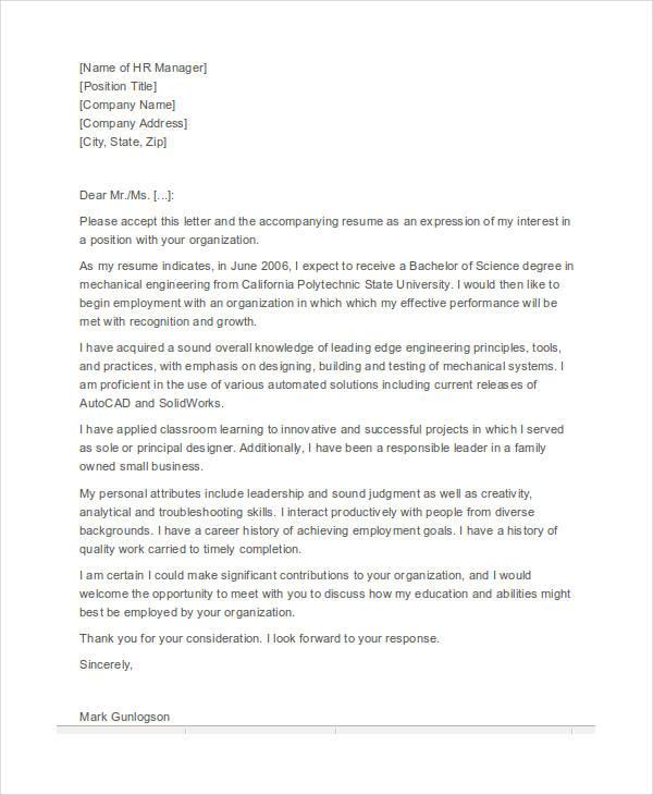 resume vs cv cover letter