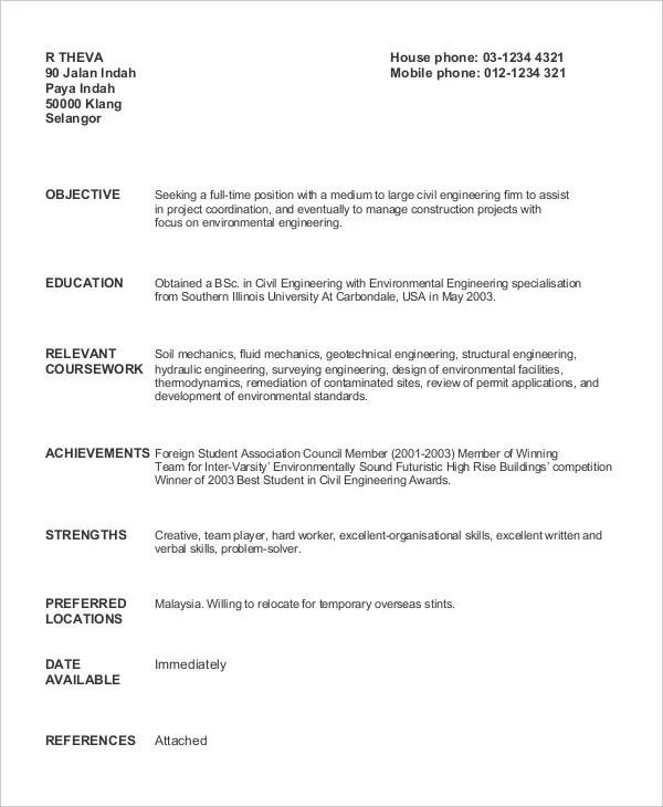 100 Resume Sample Malaysia 2017 Elegant Sample Resume
