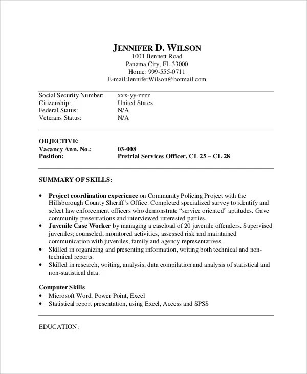 40 Free Accountant Resume Templates  PDF DOC  Free
