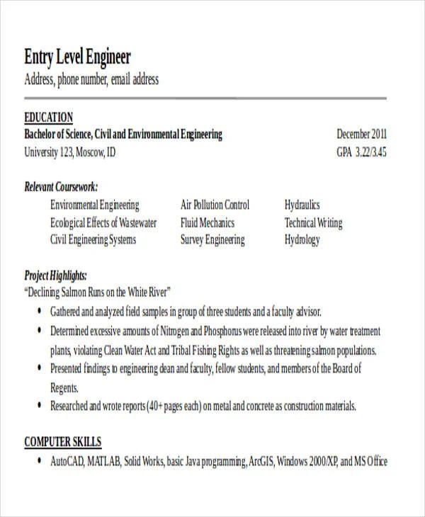 free generic resume templates