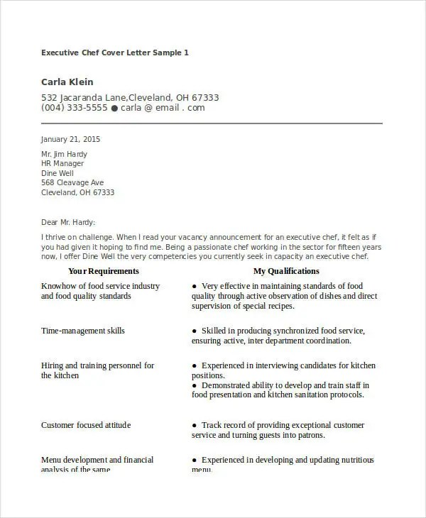 20 Best Executive Resume Templates PDF DOC Free