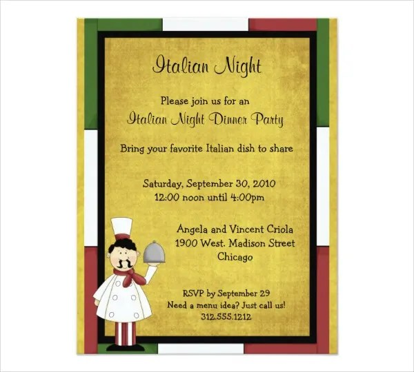 event invitation card Cogimbous – Invitation Card for Event