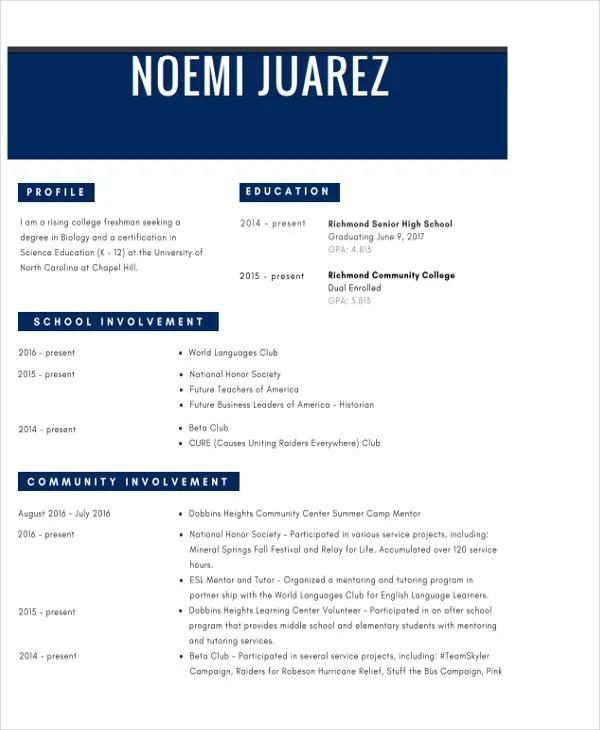 35+ Resume Templates - PDF, DOC | Free & Premium Templates