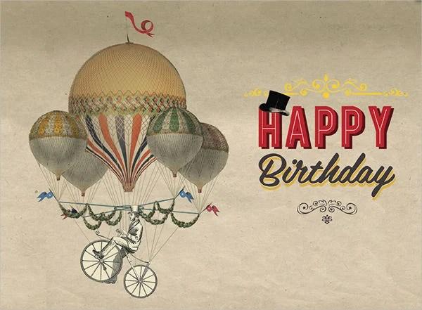 Sample Birthday Cards Free & Premium Templates