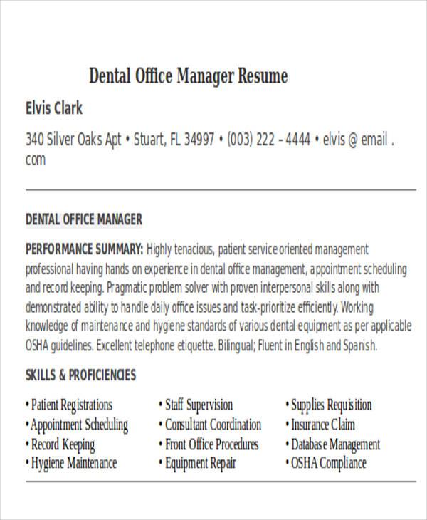 32 Manager Resume Templates PDF DOC Free Premium