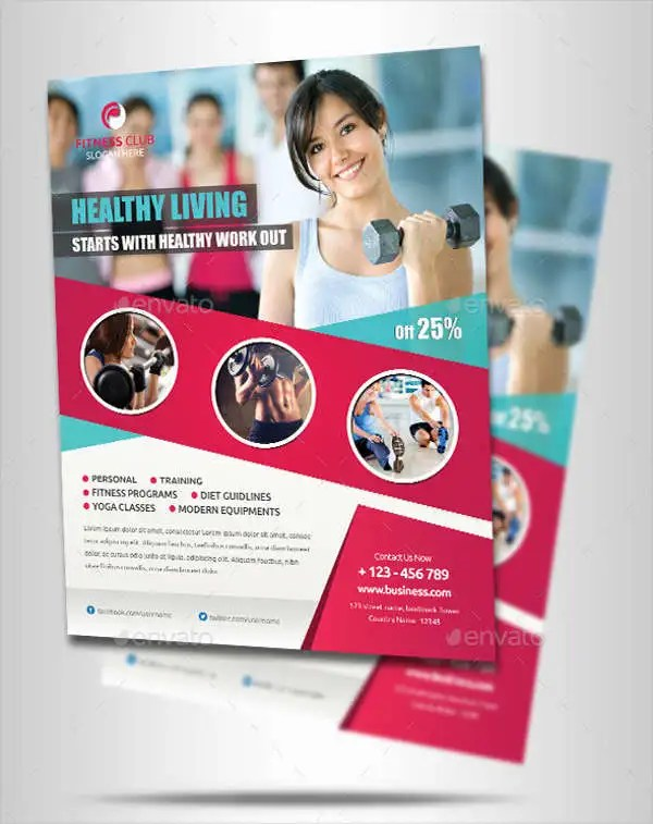 19+ Fitness Flyer Designs   Free & Premium Templates