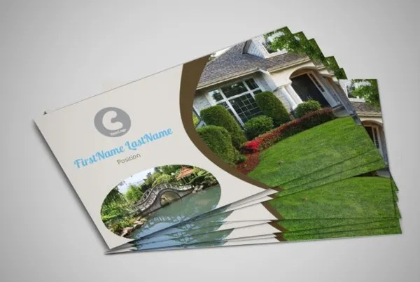 sample business cards - psd