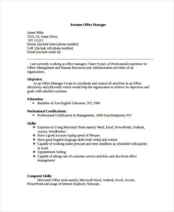 resume include all work experience