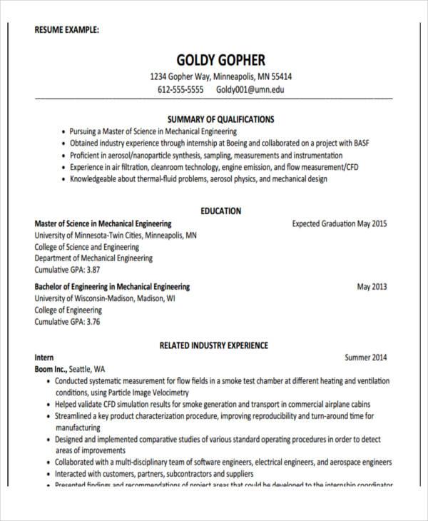 22 Education Resume Templates Pdf