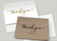 Thank-You Card Templates - Free Sample, Example, Format ...