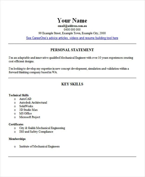 25 Best Engineering Resume Templates  PDF DOC  Free  Premium Templates