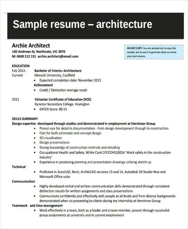 37+ Engineering Resume Examples  Free & Premium Templates