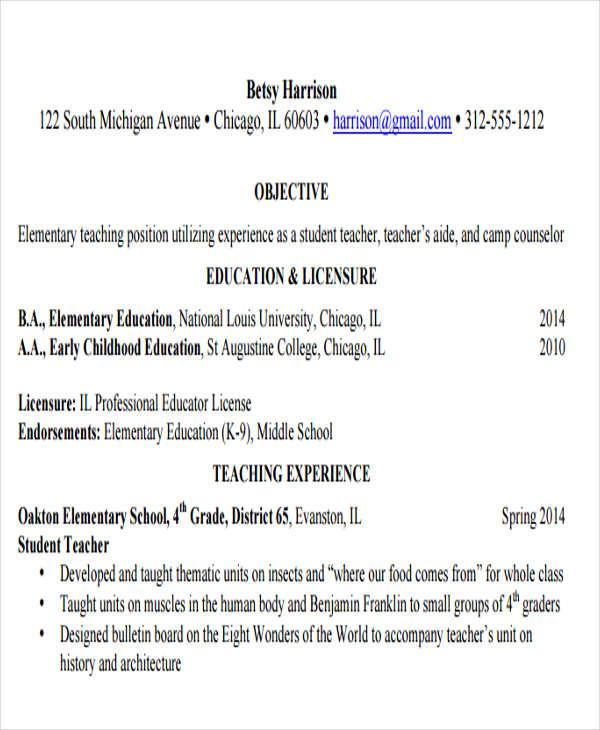 20+ Education Resume Templates in PDF | Free & Premium Templates
