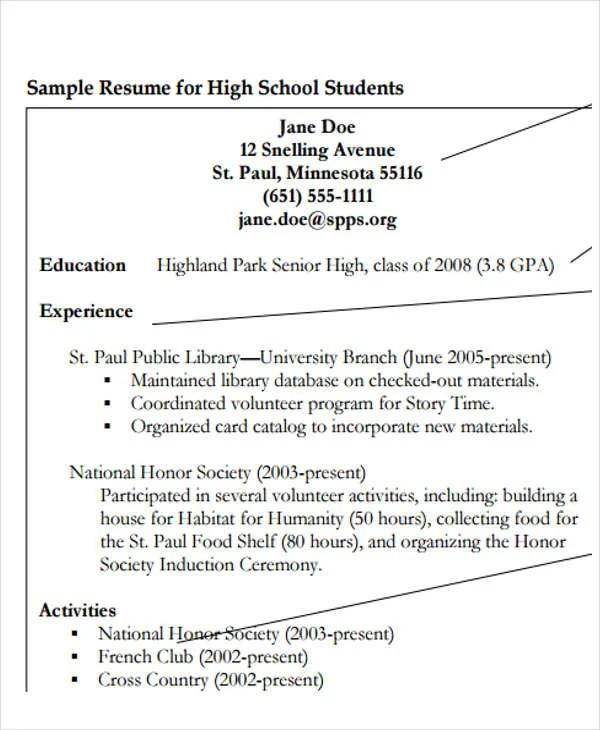 20 Education Resume Templates in PDF  Free  Premium