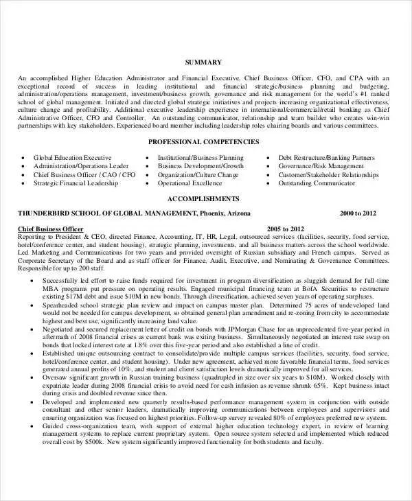 download professional resumes