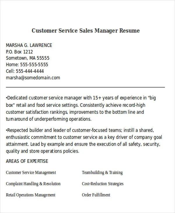 Best Sales Resume Free & Premium Templates
