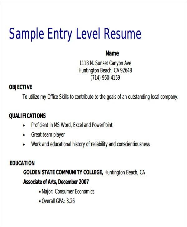 18 Sales Resume Templates In PDF Free & Premium Templates