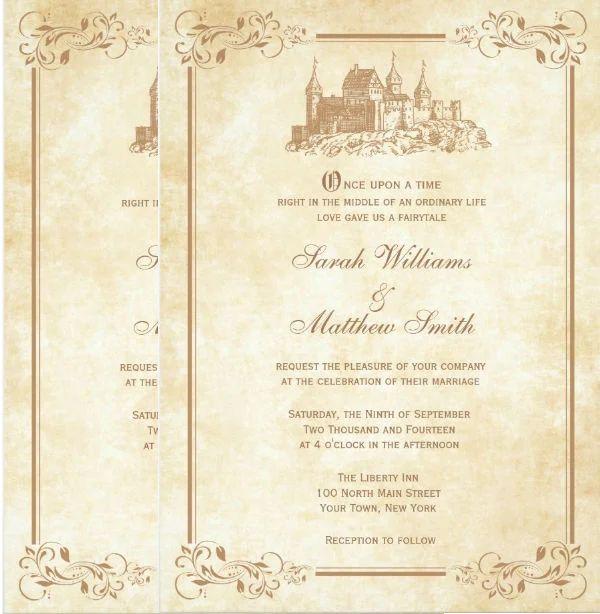 wedding ivitation template