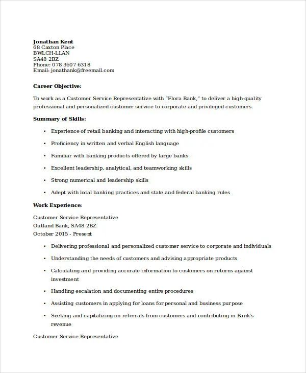 resume format word for experienced download
