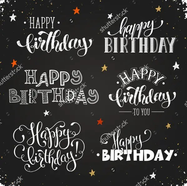 13 birthday poster templates