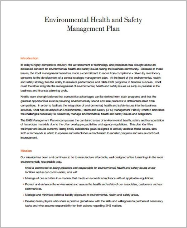 45 Management Plan Templates  PDF Word  Free  Premium