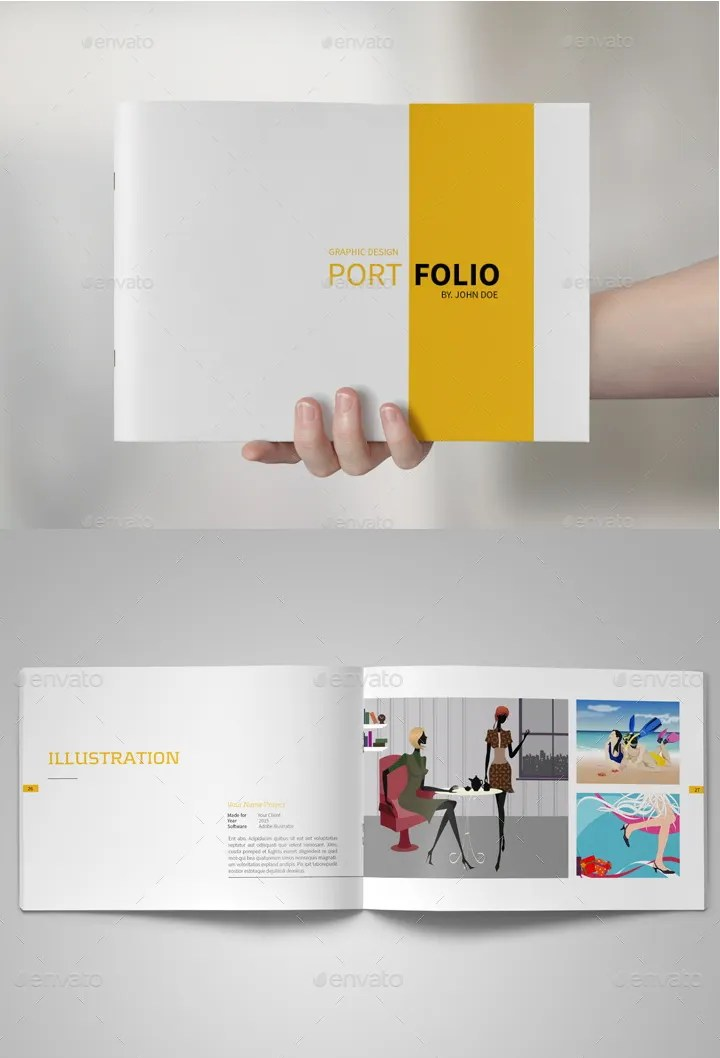 Graphic Designer Portfolio Template Free Download Ideal Vistalist Co