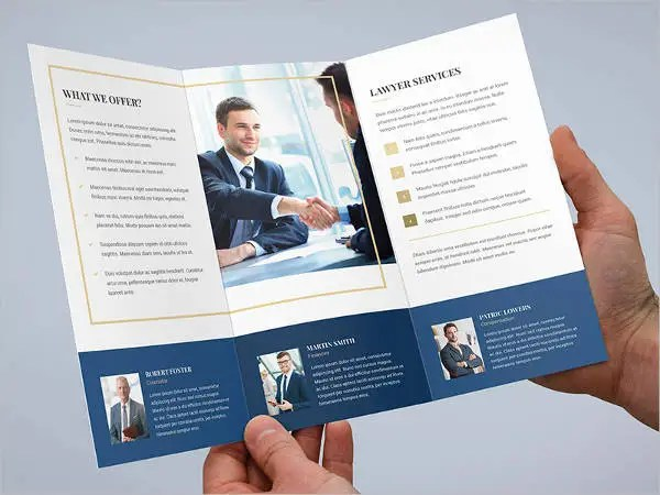 Small Business Brochure Ideal Vistalist Co