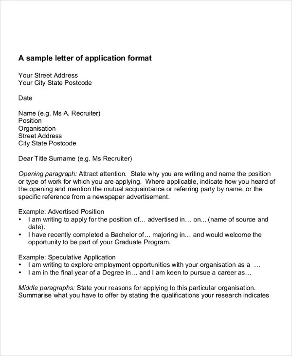 11 Job Application Letters for Doctor  PDF DOC Apple