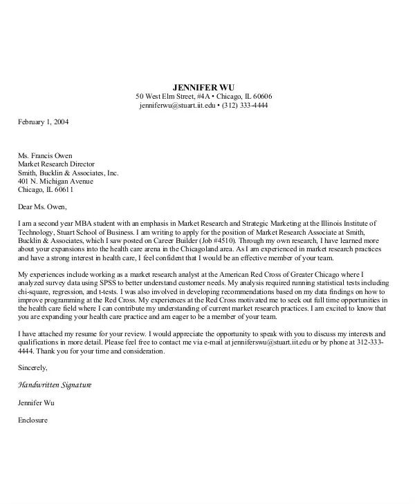 Research Associate Cover Letter Sample - Resume Examples