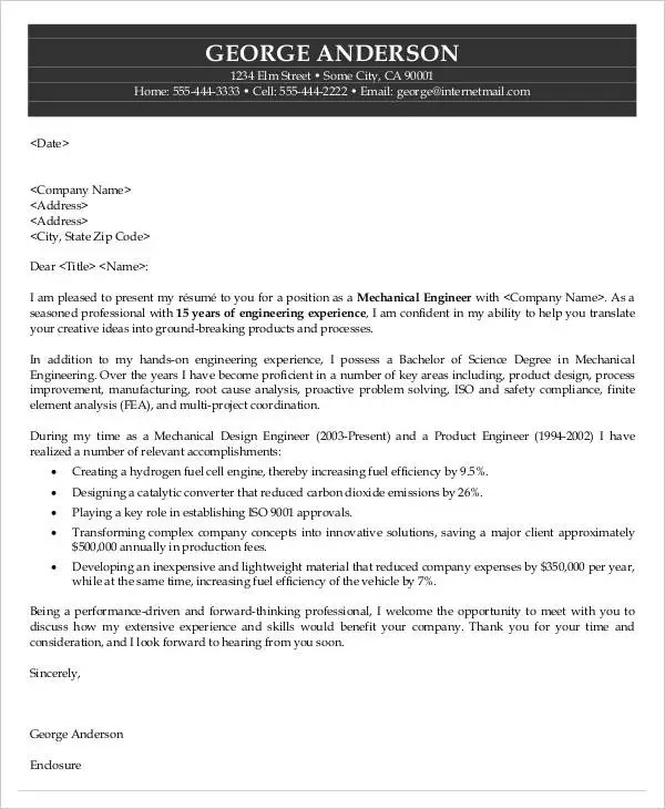 40 Job Application Letter Templates PDF Word Free