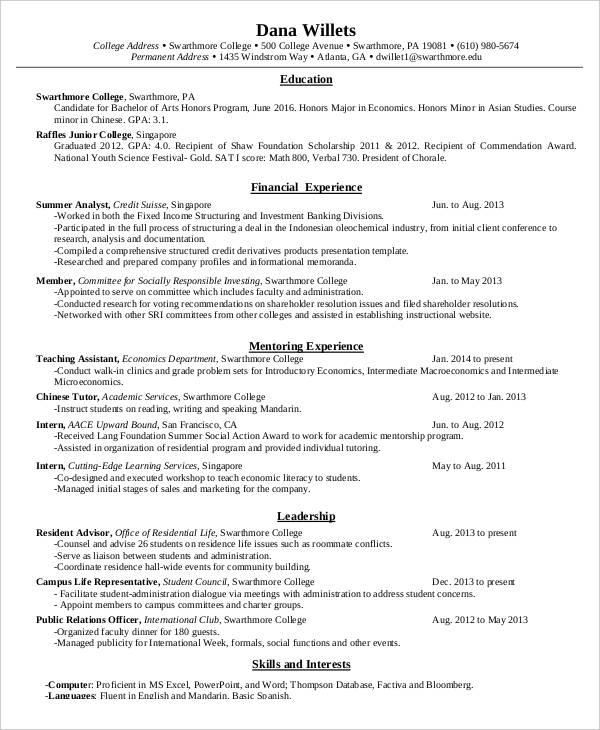 40 Modern Teacher Resume Templates PDF DOC Free