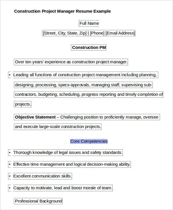 40 Free Manager Resume Templates  PDF DOC  Free  Premium Templates