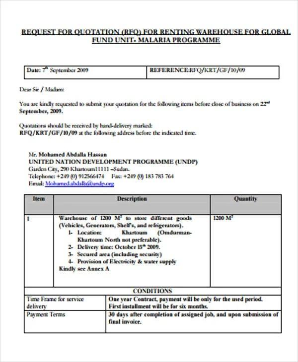 32 Quotation Formats In PDF Free & Premium Templates