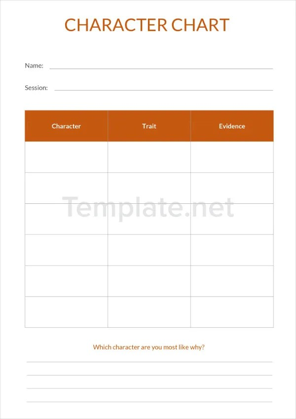 34 Chart Templates Free & Premium Templates